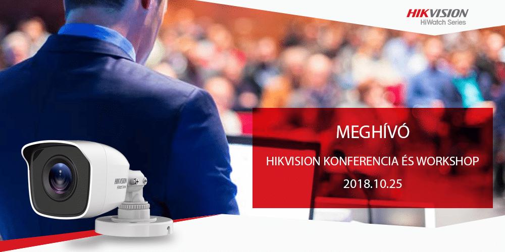 Hikvision Konferencia és Workshop 2018.10.25